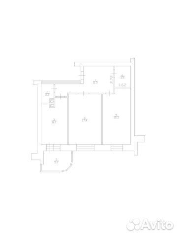 2-к квартира, 64.8 м², 2/9 эт. 89107883060 купить 1