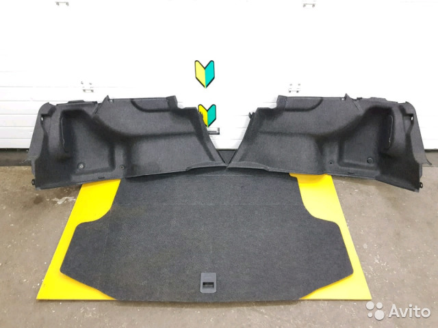 89625003353 Обшивка багажника комплект Subaru Legacy, BL5, EJ2