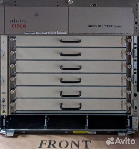 Cisco ASR 9006 chassis пустой купить в Москве на Avito