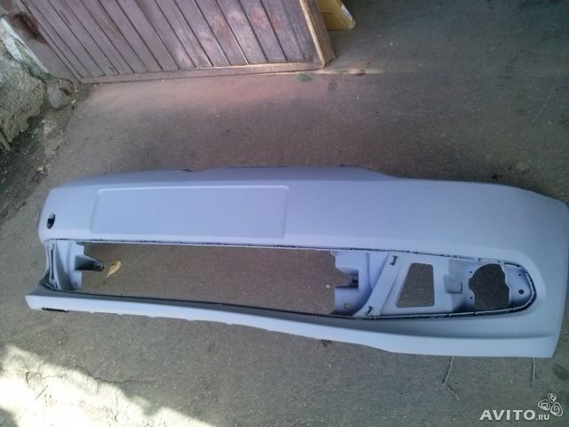 бампер для фольксваген поло седан передний