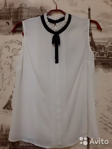 Белая блузка Lime 89275136547 купить 1