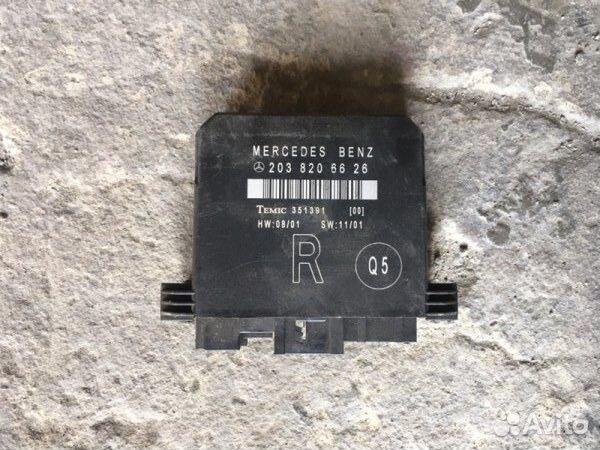 89026196331  Блок комфорта Mercedes-Benz C-Class W203 3.2 2001