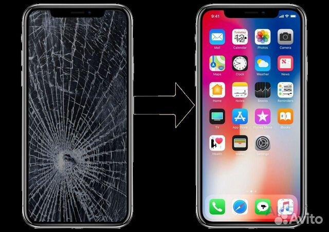 замена дисплея iphone 7 челябинск