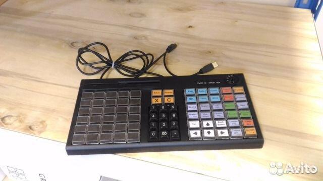 Программируемая клавиатура атол KB-76-KU черная