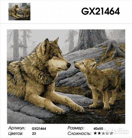 84942303606 Картины по номерам GX 21464