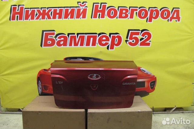 89524408730 LADA Granta 1 2012-2018 крышка багажника красн)