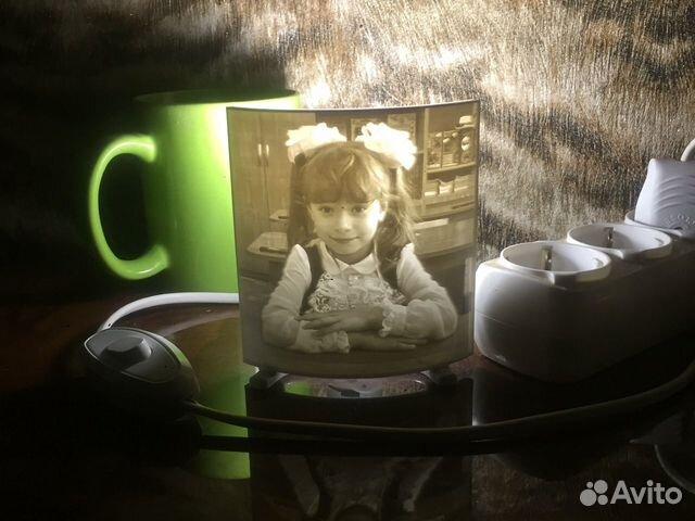 Литофан светильник-ночник с вашим фото