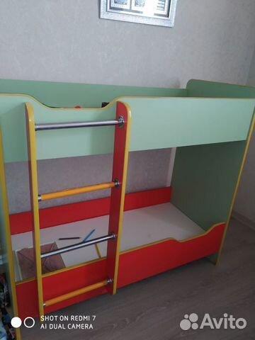 Кровать двухьярусная детский. Без матрас