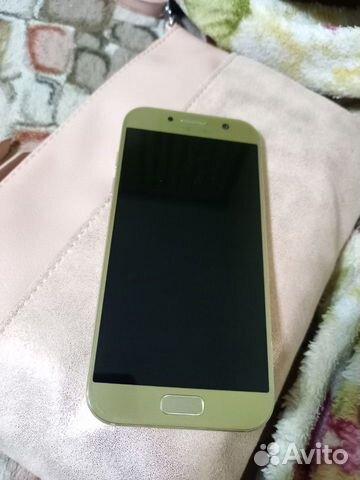 Телефон Samsung А5 (2017) gold  89045848954 купить 2