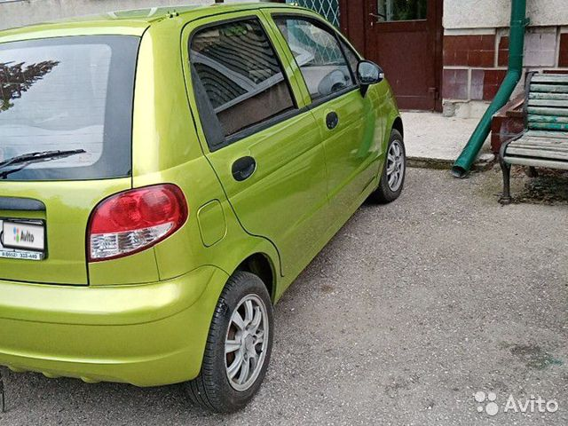 Daewoo Matiz, 2013 89639019873 купить 3