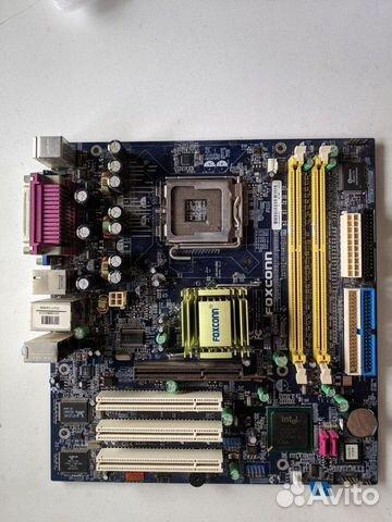 Материнская плата LGA775 Foxconn 865M07-G-6ELS  купить 1