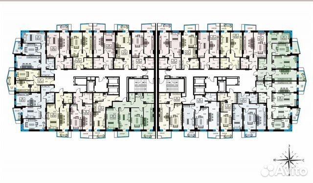 1-к квартира, 39.5 м², 14/26 эт. купить 10