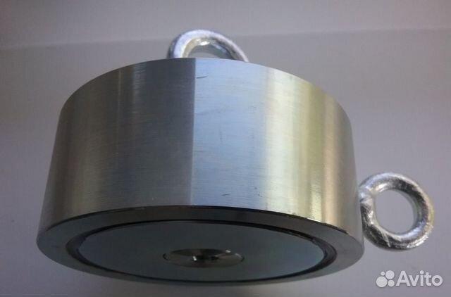 Поисковый магнит 2F300+ веревка 10 м (97 на 40 мм)  89372421787 купить 1