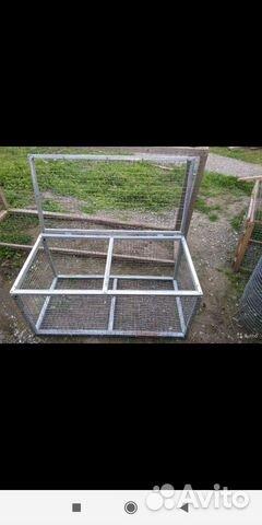 Клетки для содержания кроликов птиц и цыплят 89898713107 купить 6