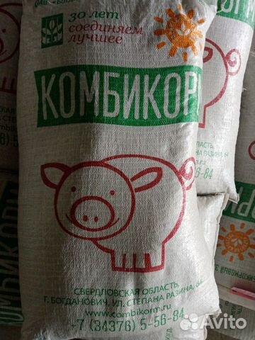 Комбикорм Скк 58 Жирный с Завода Для Свиней 40 кг  89512524242 купить 2
