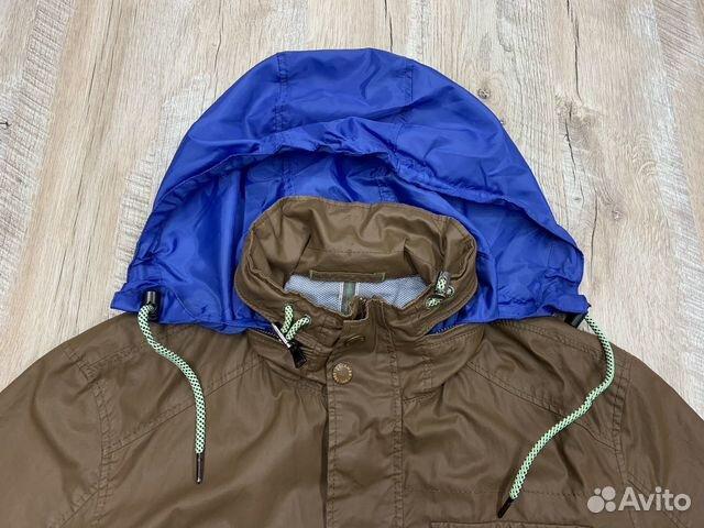 Мужская коричневая прорезиненная куртка Calamar  89218780739 купить 3