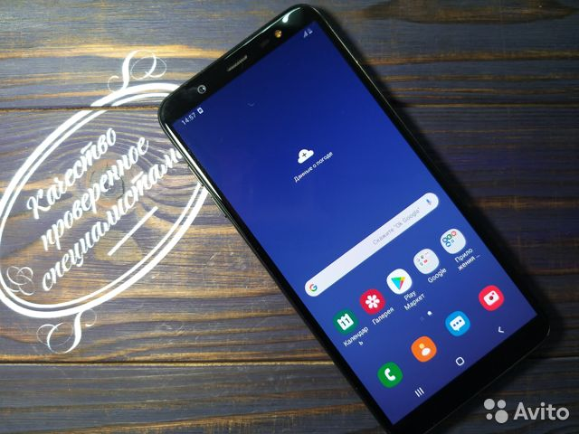 Samsung SM-J810F Galaxy J8 Черный  89148002038 купить 1