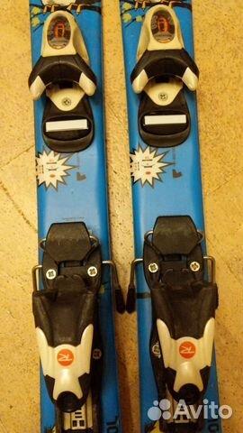 Горные лыжи детские 80 rossignol  89119556699 купить 2
