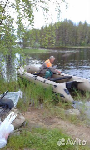 Продаю надувную лодку badger LD-390  89600215092 купить 1