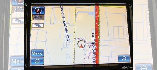 разъем для обновления в навигационной системе toyota