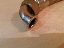 Рукав для воды гибкий в стальной оплетке