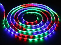 Светодиодная лента 14,4вт. IP20 RGB (многоцветная)