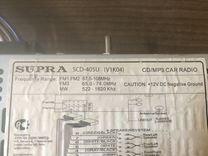 Автомагнитола Supra USB — Запчасти и аксессуары в Волгограде