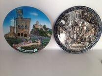 Тарелки декоративные — Коллекционирование в Новосибирске