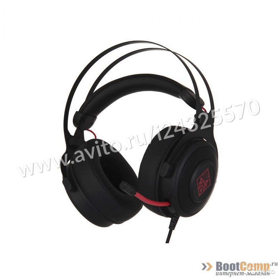 Игровые наушники с микрофоном HP omen 800  84012410120 купить 3