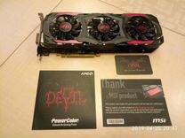 Видеокарта Radeon RX480 Red Devil 8Gb