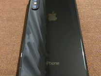 iPhone X 64 GB Space Gray рст — Телефоны в Санкт-Петербурге
