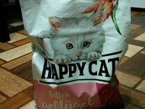 Сухой корм Happy Cat для котят с птицей 4кг