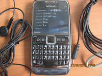 Телефон nokia E71 с GPS и WI-FI