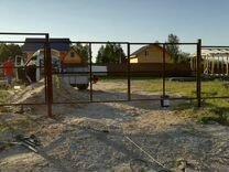 Монтаж заборов,ворот,калиток,откатных ворот