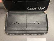 Calvin Klein кошелёк из нат. кожи, оригинал