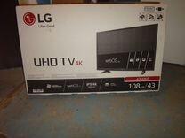 Мой новый телевизор в упаковке функция IPS 4K