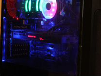Игровой пк i5,1060,ssd120,12gb+RGB подсветка
