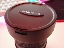 Объектив Samyang 8mm f/3.5 Fish eye для Canon