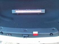 Крышка багажника в сборе Мерседес 213 белая
