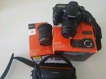 Фотоаппарат Sony SLT-A77 и объектив Sony SAL-1118