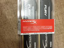 Kingston HyperX fury Black Series DDR4 8 гб
