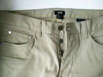 Мужские джинсы h&m бежевые 30 размер
