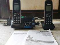Радиотелефон Panasonic. Две трубки