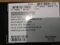 Gigabyte gtx 1060 3gb — Товары для компьютера в Москве