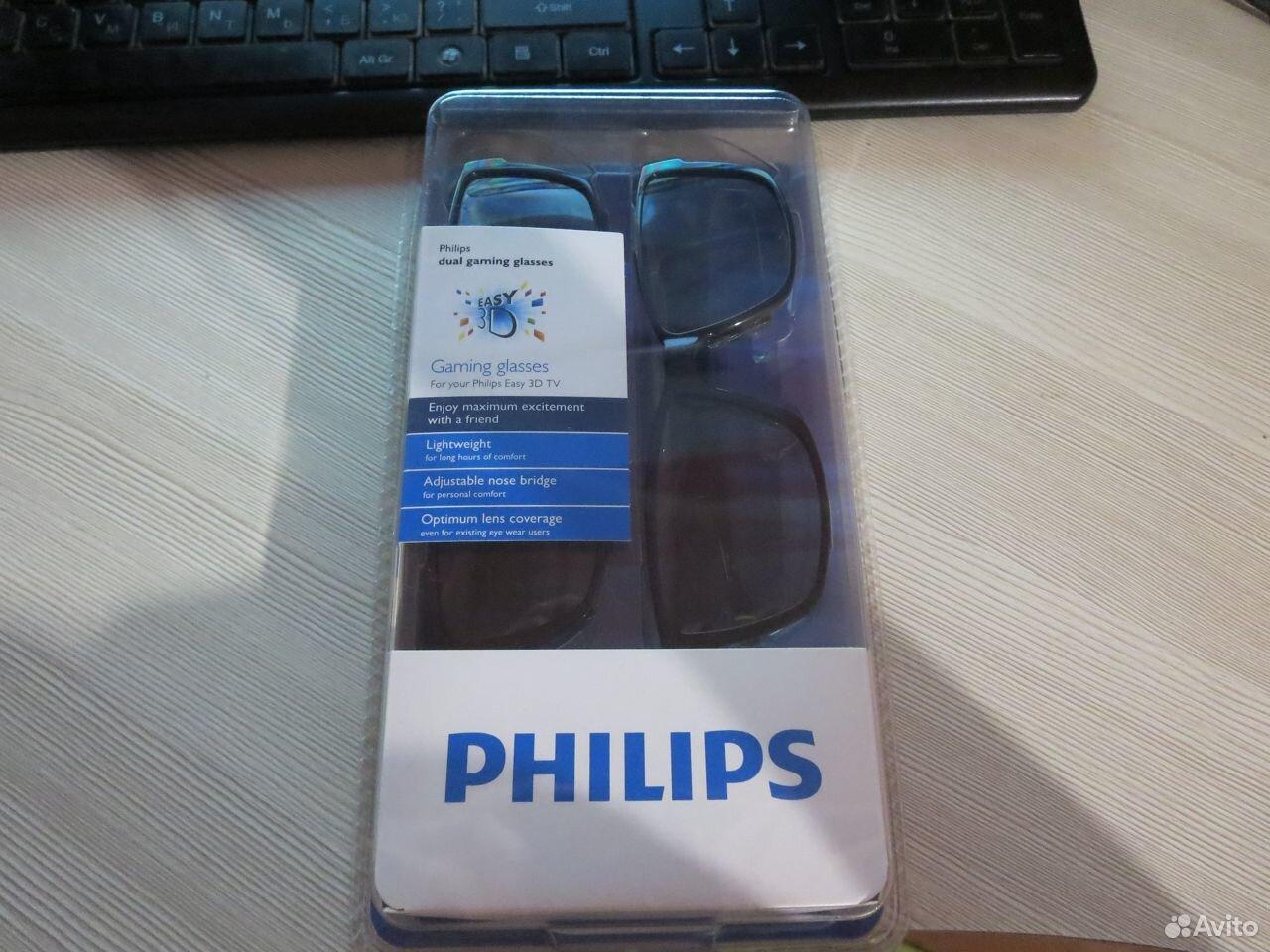 3D очки Philips (2 пары)  89085565045 купить 2