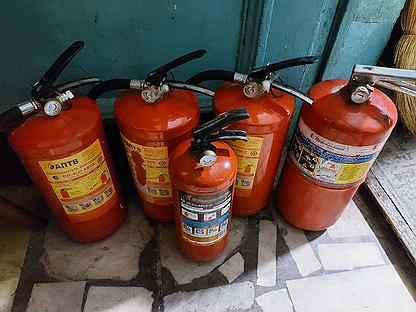 Огнетушители 5 шт