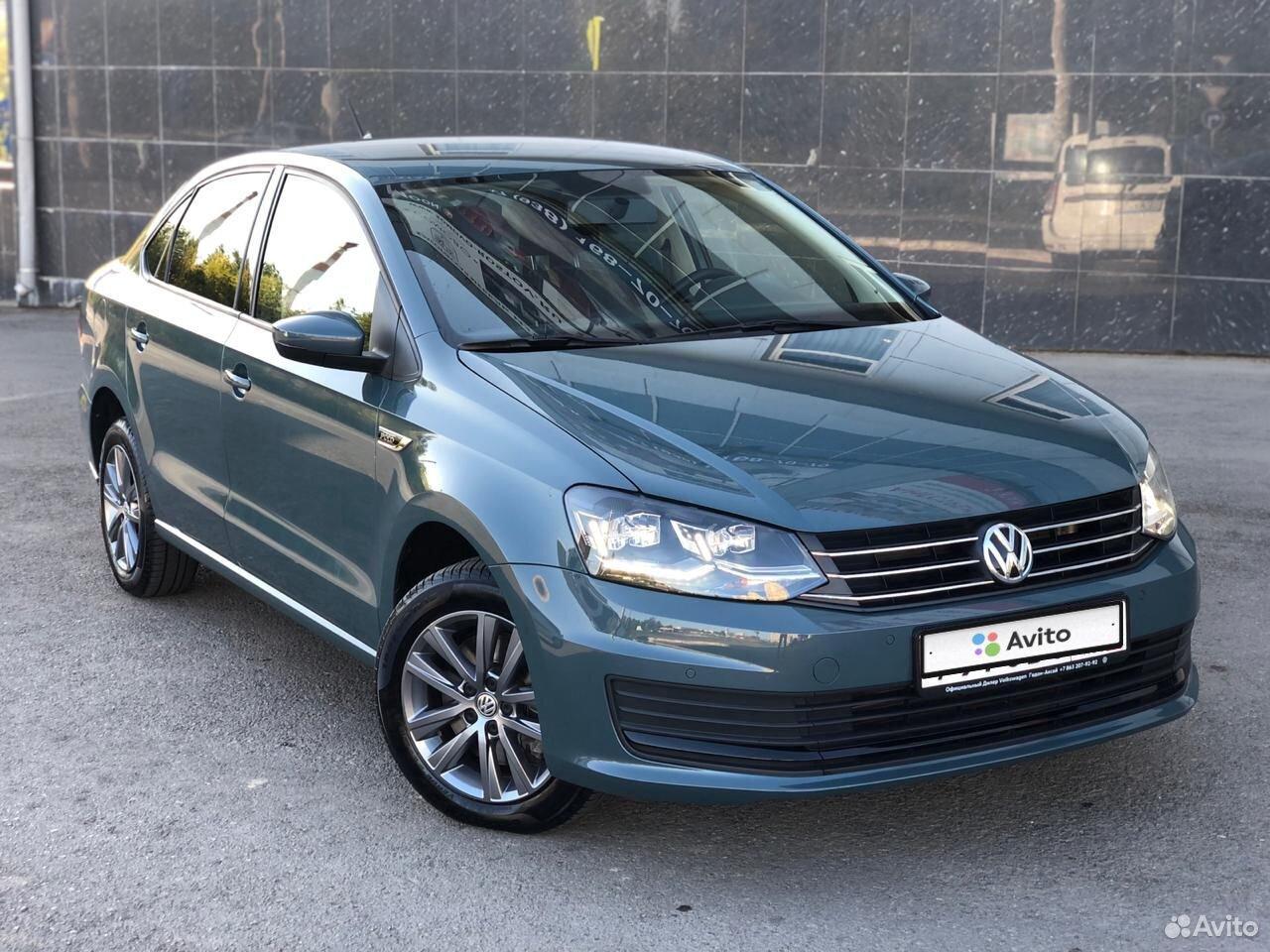Volkswagen Polo, 2019  89185704414 купить 1