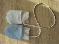 Варежки для новорожденного аналог reima