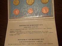 Официальный годовой набор монет Ватикана 2012