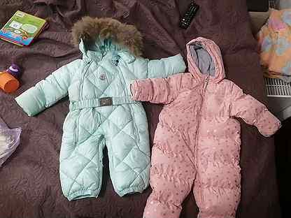 Зимний и демисезонный комбинезон для девочки
